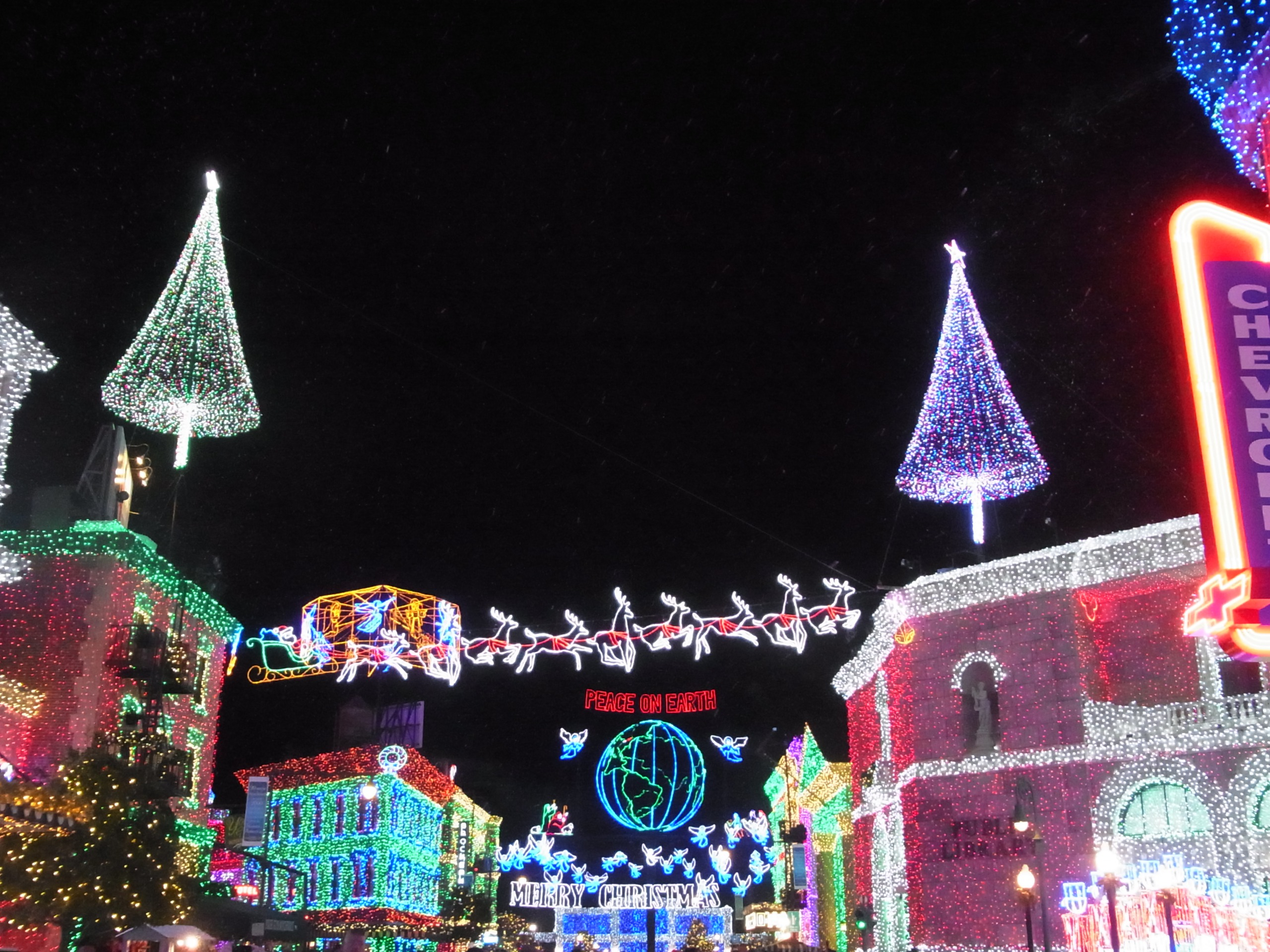WDW旅行記 41 The Osborne Family Spectacle of Dancing Lights