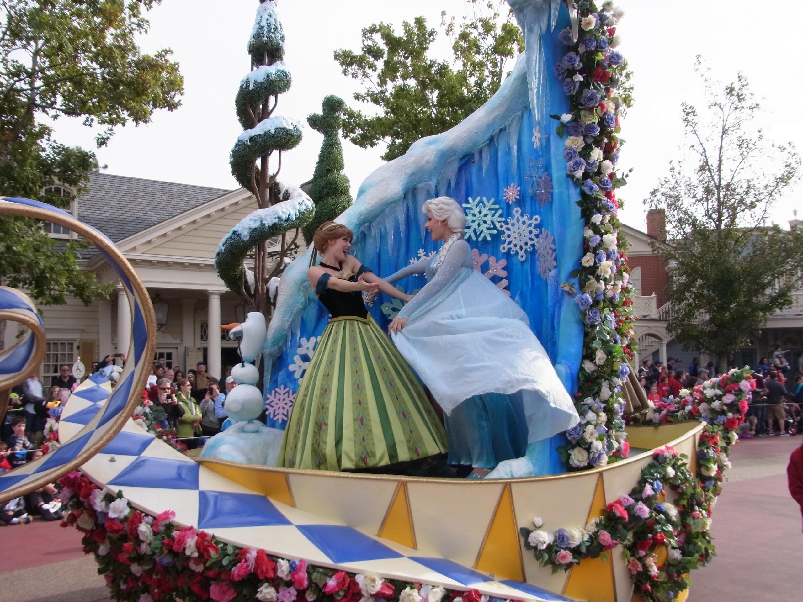 WDW旅行記 40 みんなでアナと雪の女王を合唱