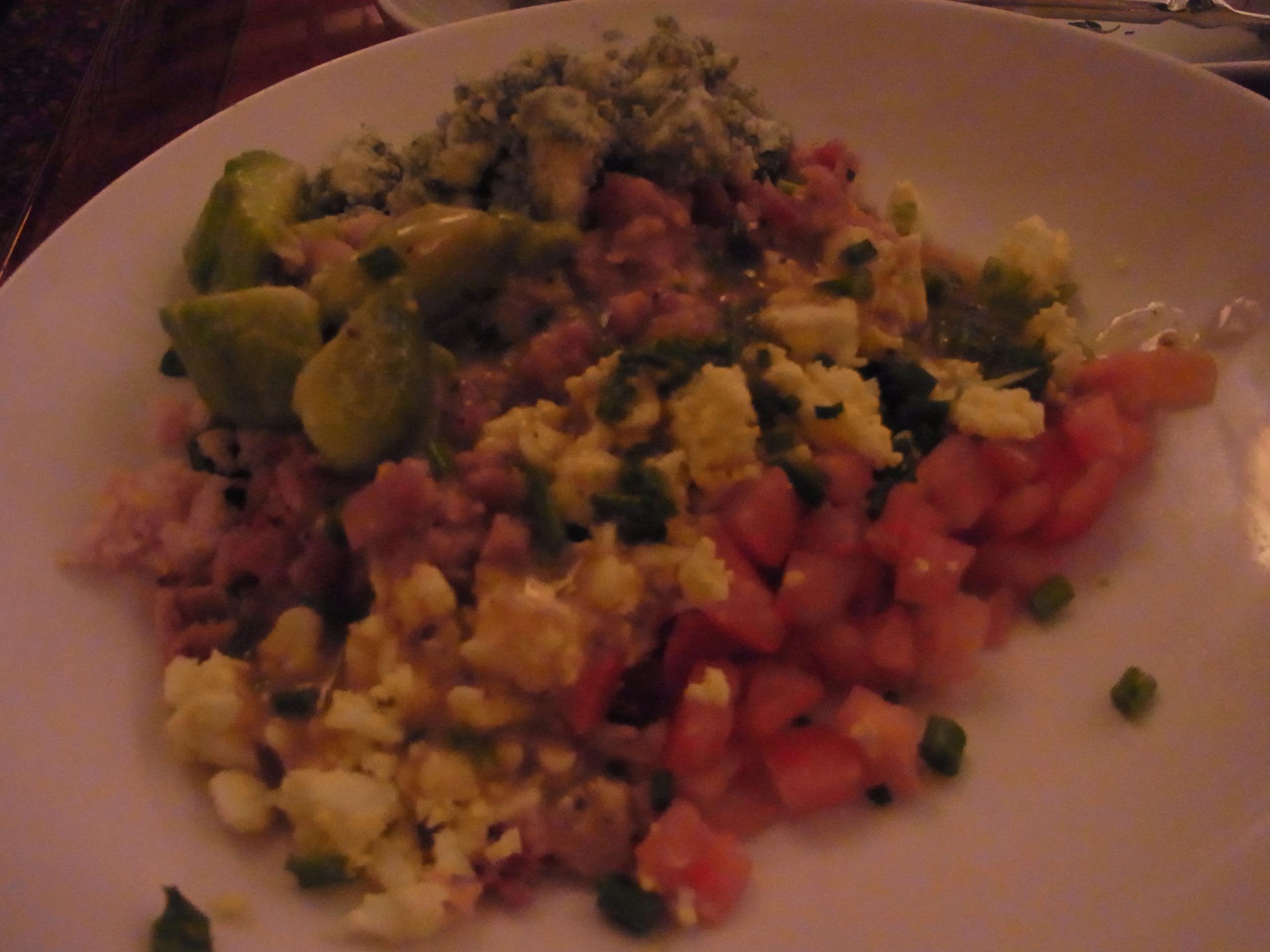 WDW旅行記 59 ハリウッド・ブラウンダービーでディナーを食べる