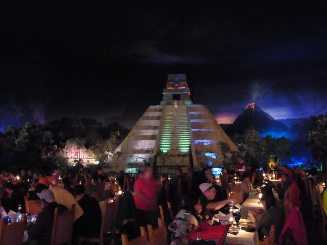 WDW旅行記 68 メキシコ館のサン・アンヘル・イン・レストランでランチを食べる